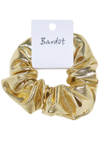 SCRUNCHIE HAIR TIE in colour GOLD EARTH