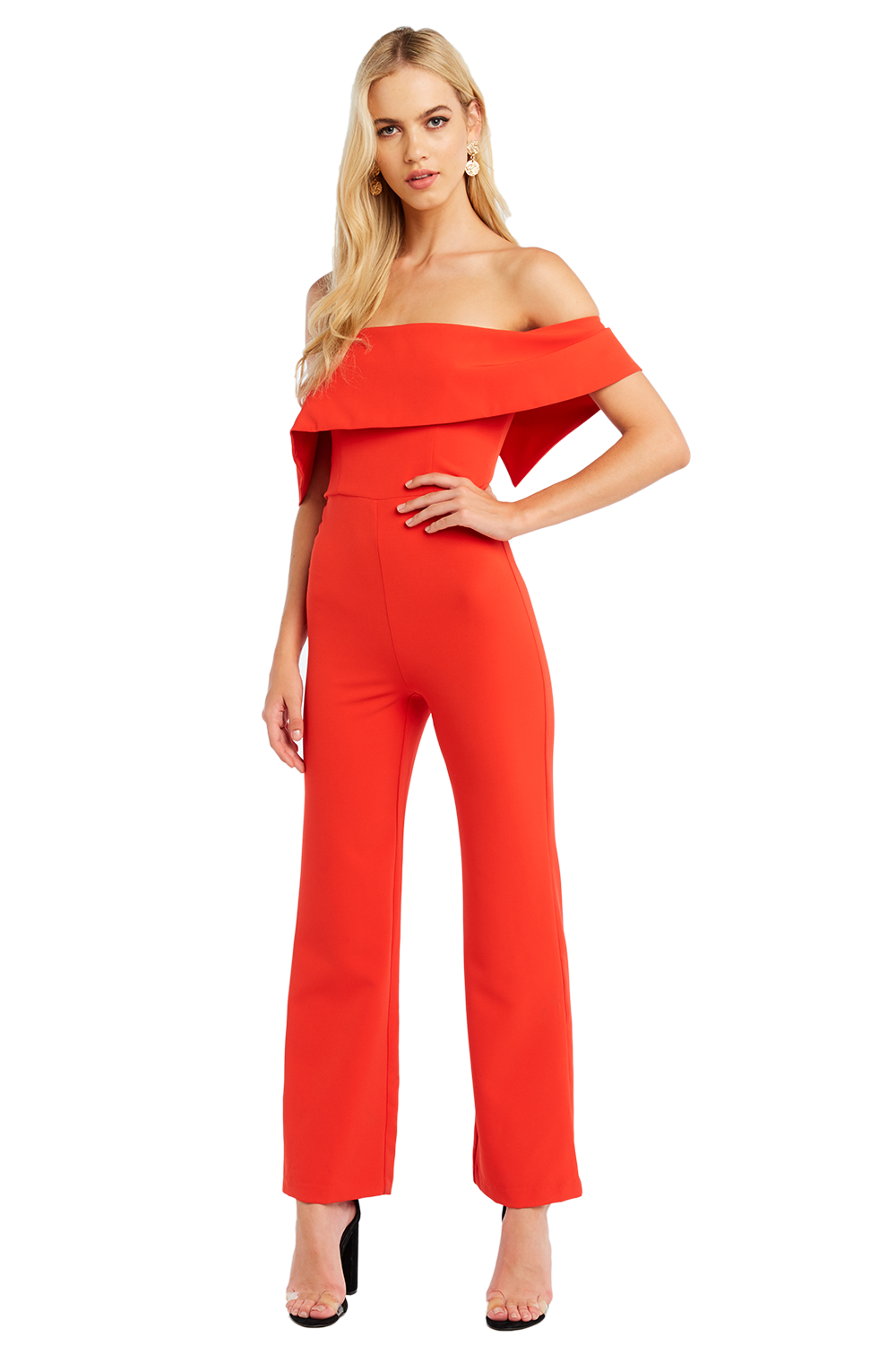 ZORA PANTSUIT in colour FIESTA