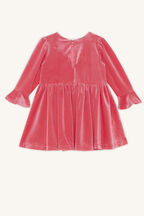 MATILDA BOW DRESS in colour PARADISE PINK