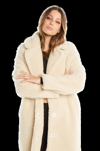 LONG COAT in colour WHISPER WHITE