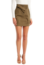 UTILITY SKIRT in colour BURNT OLIVE