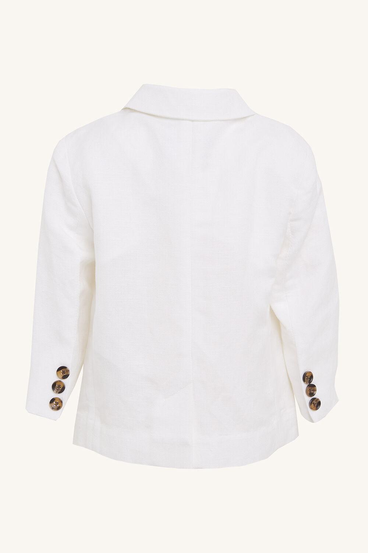St Tropez Blazer in colour BRIGHT WHITE