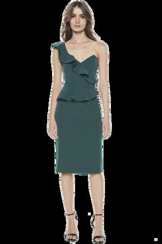 CAMELIA DRESS in colour JASPER