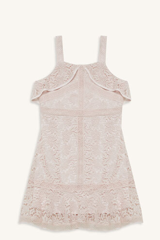 ANNIE DRESS in colour CRYSTAL PINK