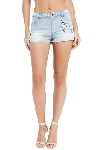 EMBROIDERED SHORT in colour CITADEL