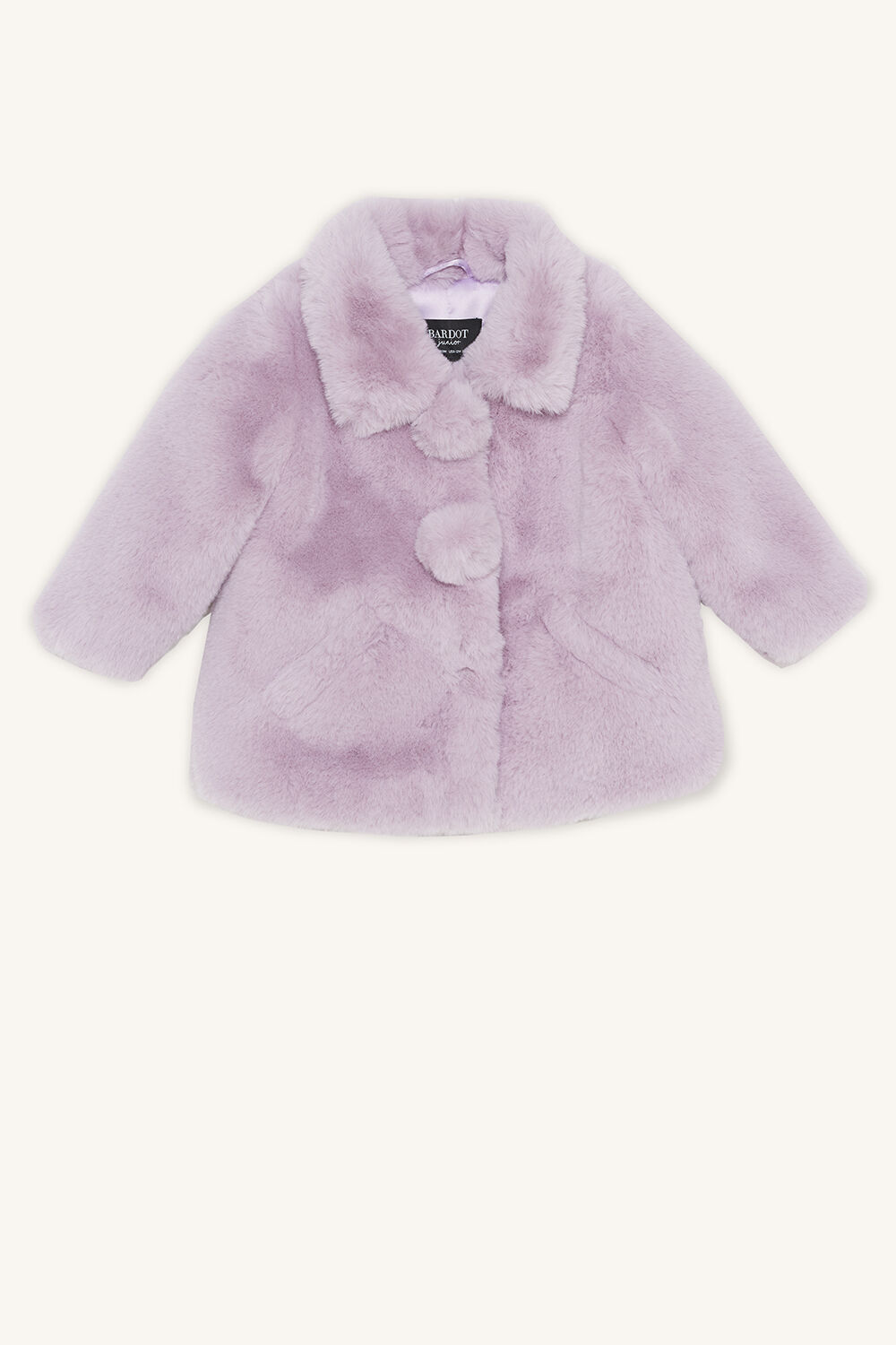 PENN PLUSH JACKET in colour LILAC HINT