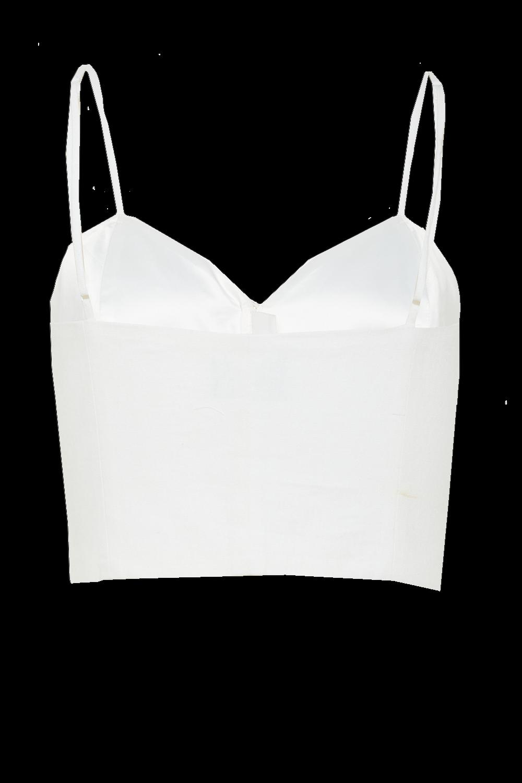 TILDA TOP in colour SNOW WHITE