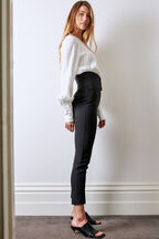 CORSET PANT in colour CAVIAR