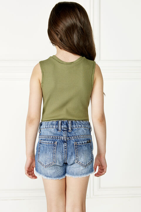 JORDAN BODYSUIT in colour OLIVINE