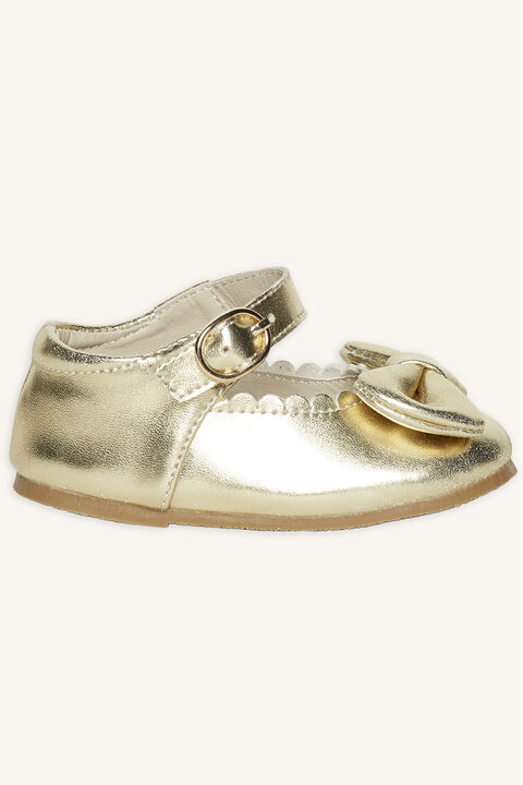 TODDLER MARY JANE in colour GOLD EARTH