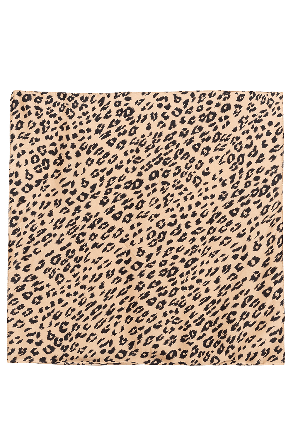 LEOPARD HAIR SCARF in colour ANTELOPE
