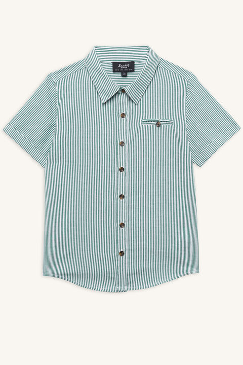 MAN-STYLE SHIRT in colour GREENLAKE