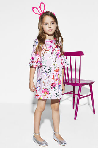 SAVANNAH SHIFT DRESS in colour PRISM PINK