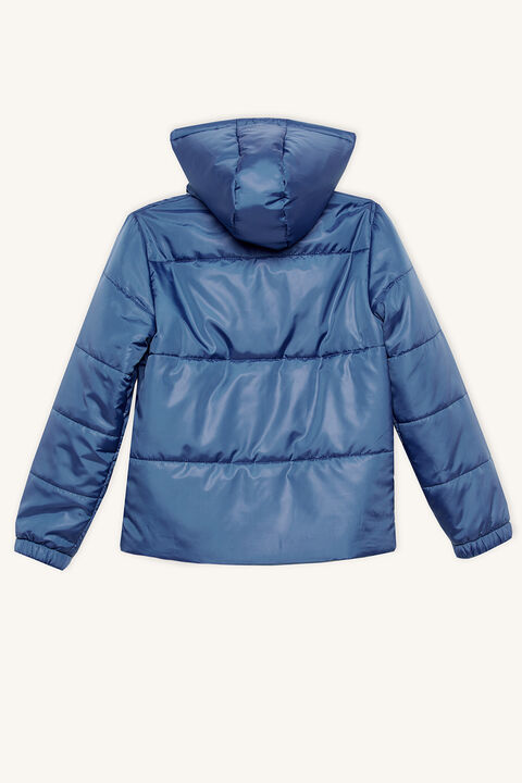 DAWSON PUFFER JACKET in colour ENSIGN BLUE