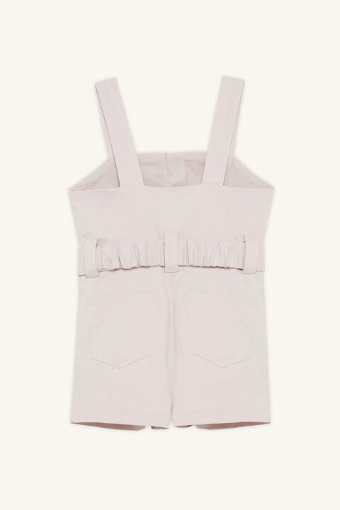 NEL UTILITY PLAYSUIT in colour PRIMROSE PINK