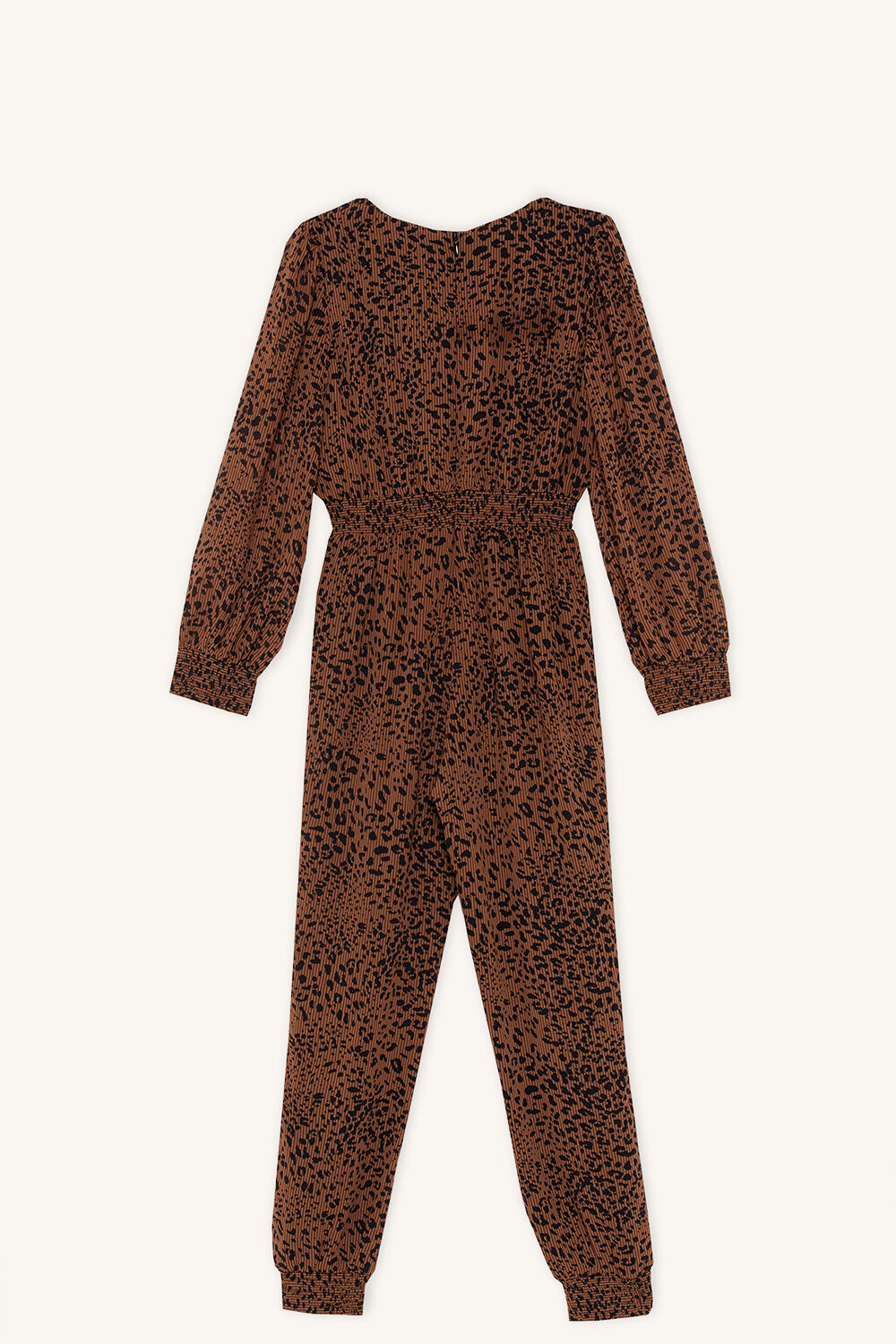 SYLVIA JUMPSUIT in colour TOBACCO BROWN