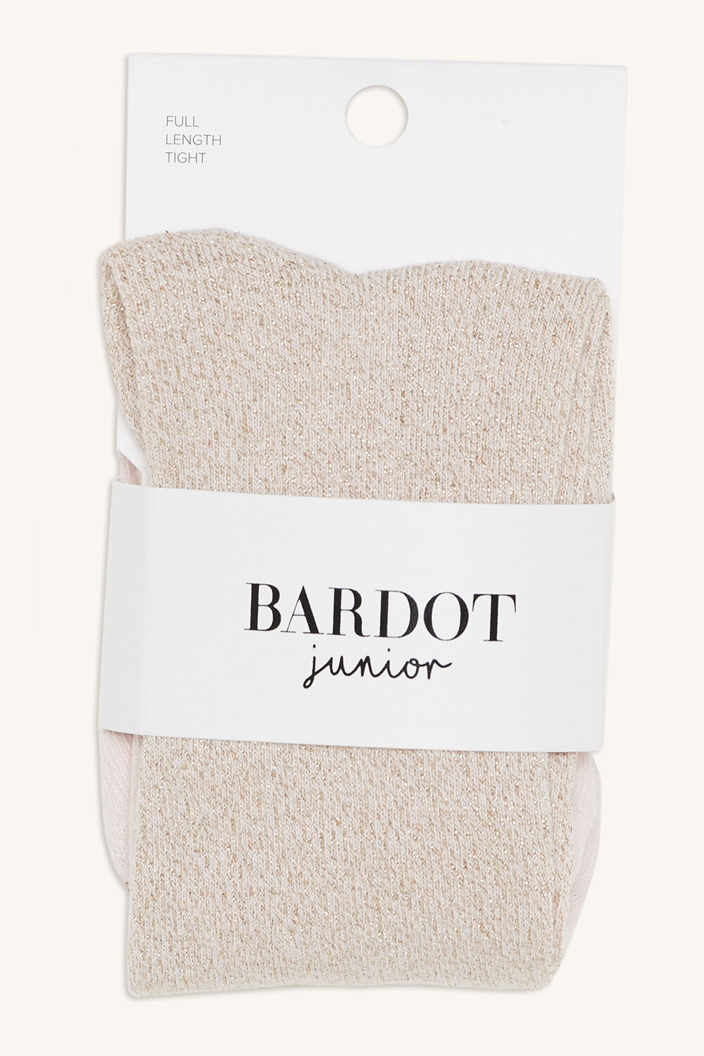 BABY COTTON LUREX TIGHTS in colour GOLD EARTH