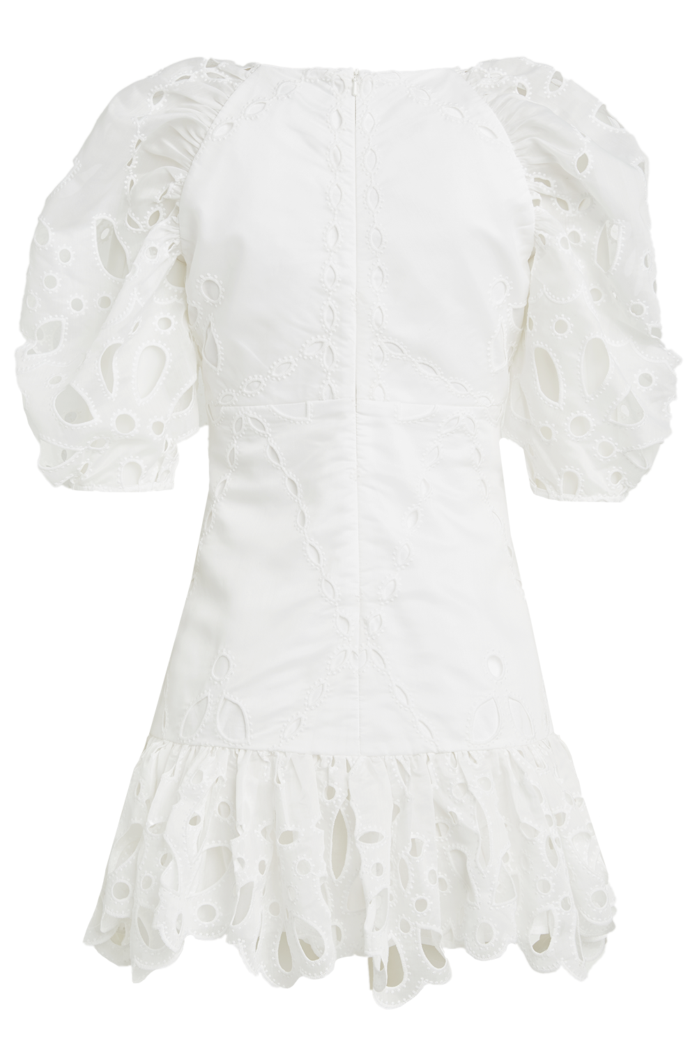Margot Dress in colour BRIGHT WHITE