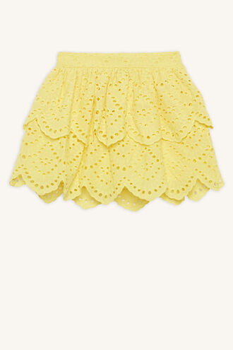 SAHARA SKIRT in colour DANDELION
