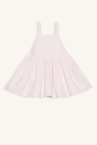 BOUCLE APRON GROW in colour CRYSTAL PINK