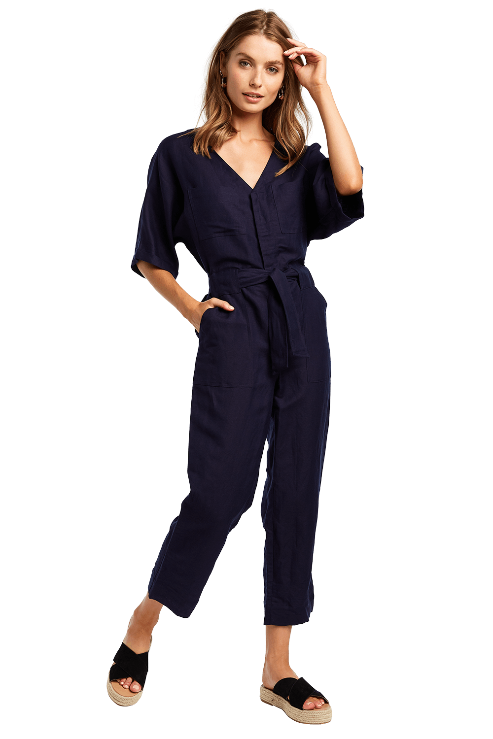UTILITY JUMPSUIT in colour ASTRAL AURA
