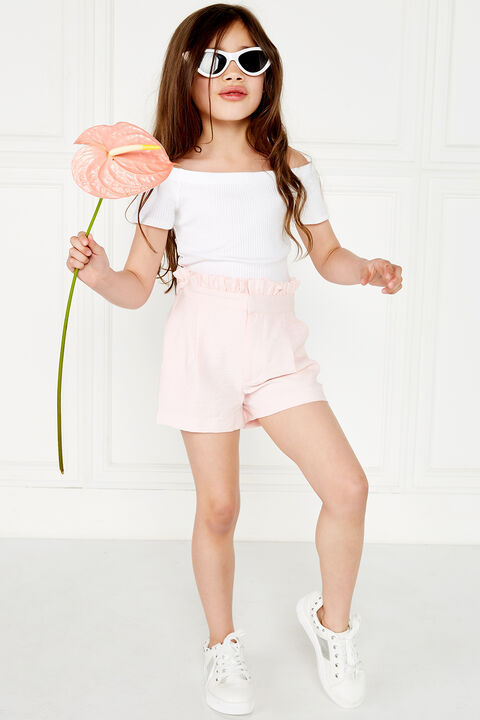 CALISTA SHORTS in colour BLUSHING BRIDE