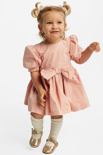 LANI BOWIE DRESS in colour PARFAIT PINK