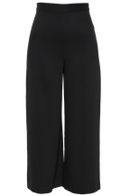PARISIENNE CROP PANT in colour CAVIAR
