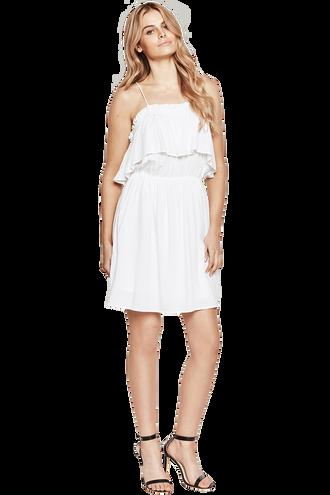 CHELSEA DRESS in colour BRIGHT WHITE