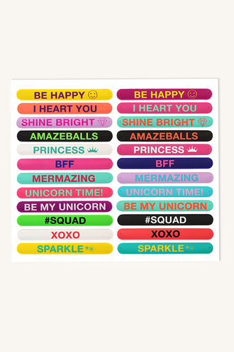 SNAP BANDS in colour BRIGHT WHITE