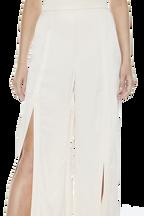 DRESSY SPLIT PANT in colour POWDER PUFF