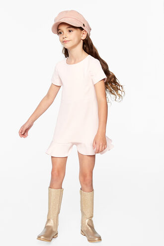 LAURA MINI DRESS in colour BLUSHING BRIDE