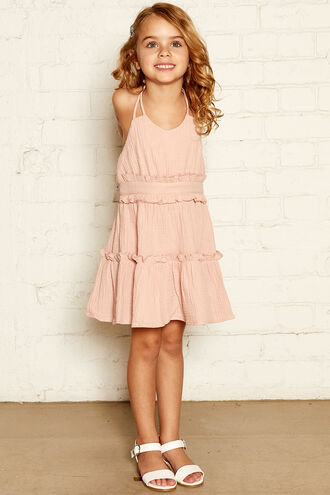MONROE HALTER DRESS in colour PRAIRIE SUNSET