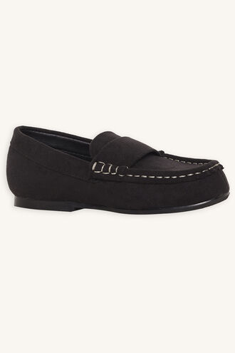 FRANKY LOAFER SHOE in colour METEORITE