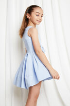 JUNIOR GIRL GRACE STARLET DRESS in colour BALLAD BLUE