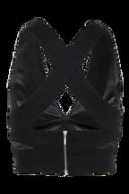 FARRAH TOP in colour CAVIAR