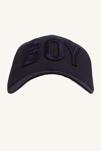 BOY CAP in colour BLACK IRIS