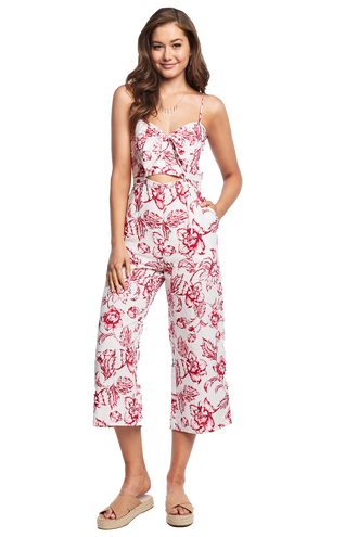 TALIA JUMPSUIT in colour CLOUD DANCER