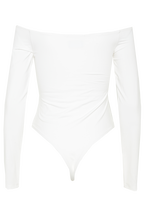 POPPY LONG SLEEVE BODYSUIT in colour BRUSH