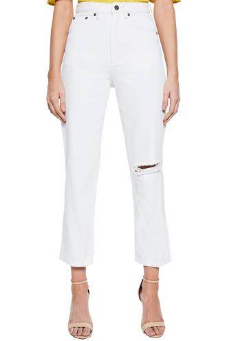 TILLY DENIM JEAN in colour SNOW WHITE