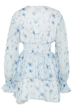 MALINA DRESS in colour BIT OF BLUE