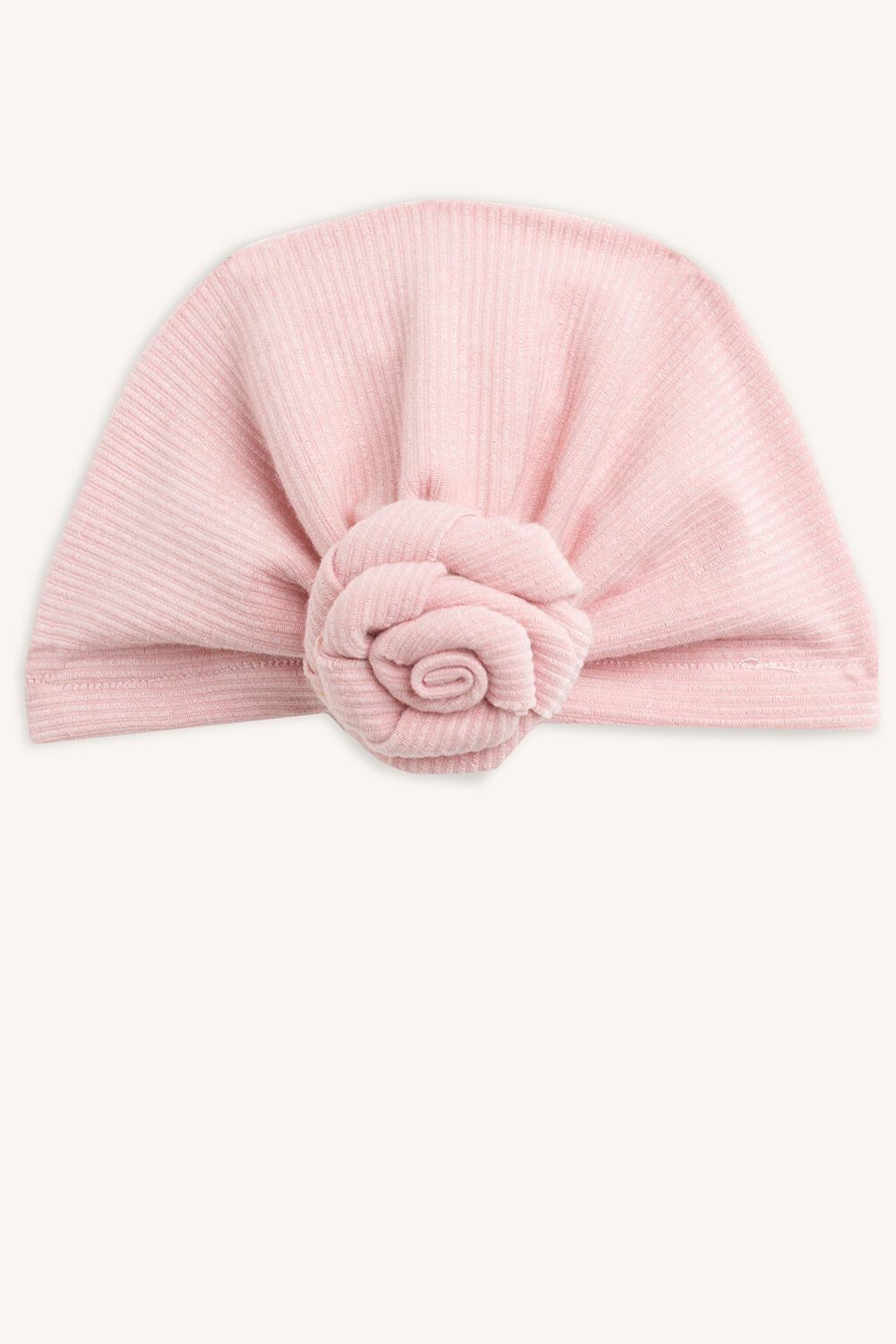 ROSETTE BABY HEADWRAP in colour BLUSHING BRIDE