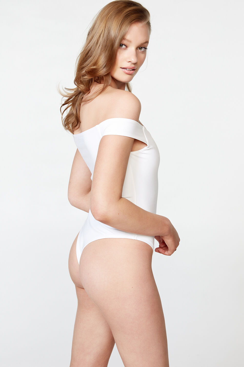 POPPY ARM-BAND BODY in colour BRIGHT WHITE