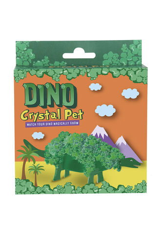 Crystal Dino in colour BRIGHT WHITE