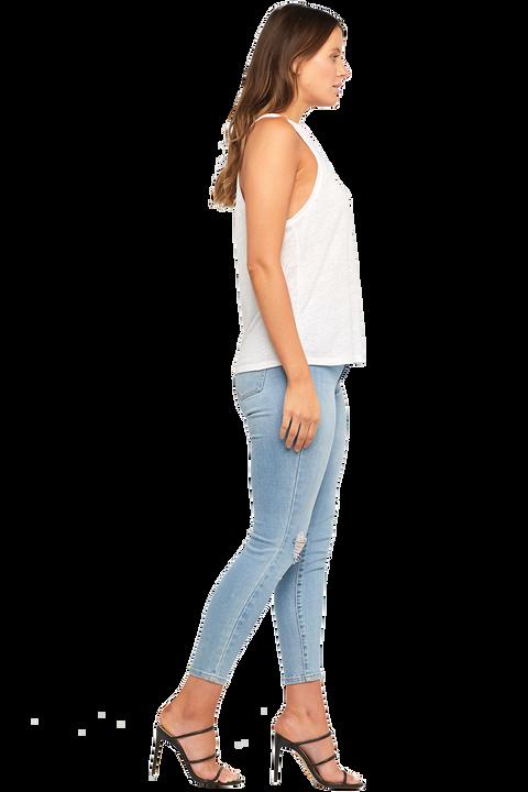 RIKAEL SINGLET in colour BRIGHT WHITE