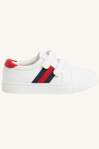 SEB STAR SNEAKER in colour WHITE ALYSSUM