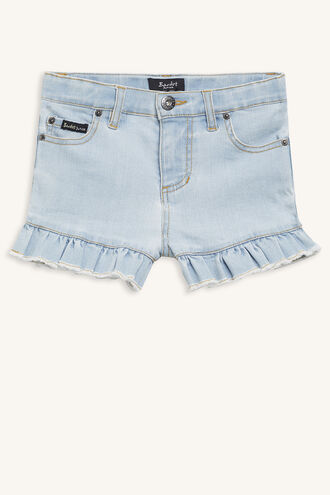 LOURDES DENIM SHORT in colour CITADEL