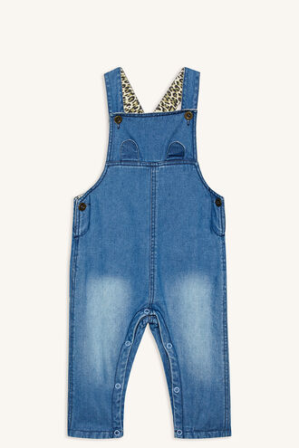 CUB DENIM OVERALL in colour ASHLEY BLUE