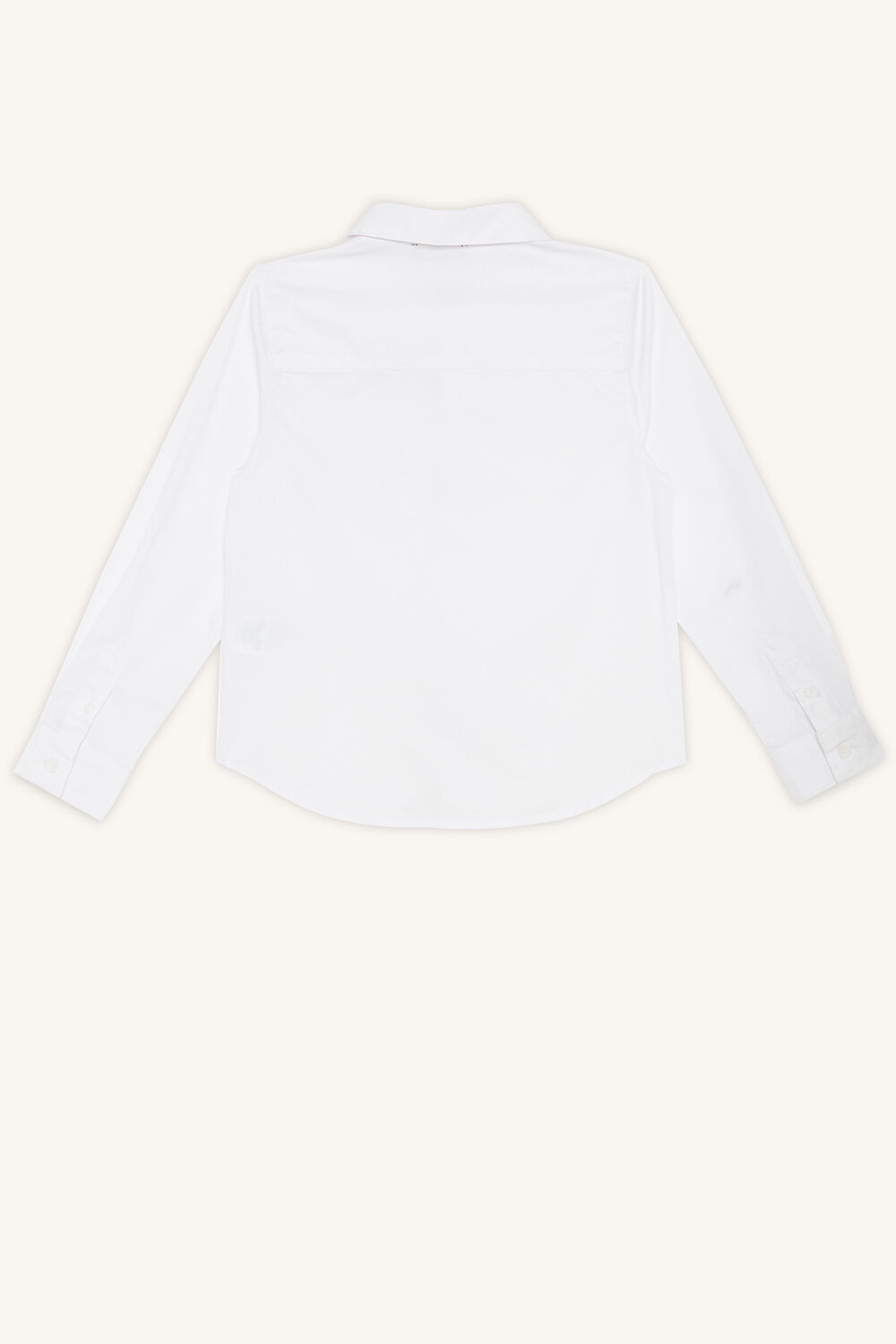 TEXTURED WEAVE SHIRT in colour BRIGHT WHITE