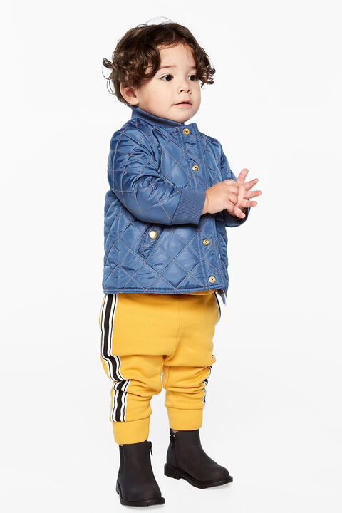 LEVI QUILTED COAT in colour ENSIGN BLUE